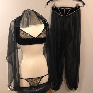 Coquette Bellydancer Sexy Costume Sz S